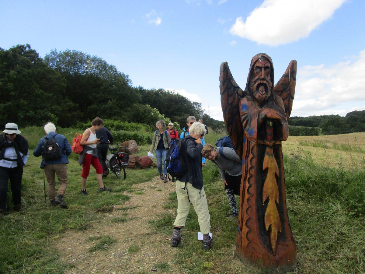 Pilgrimstur til Gjern Bakker
