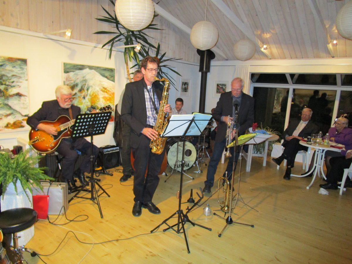 Jazzaften m/The Barrel House & jazzede viser m.m.